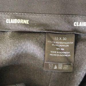 Claiborne Pants - Claiborne Navy Dress pants